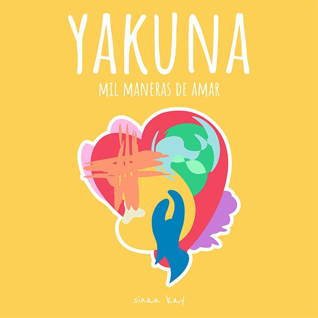 Pegatina Amarilla (55x55mm) - Yakuna